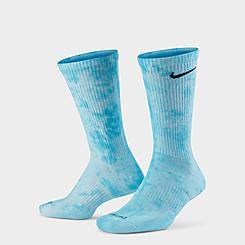 Nike Everyday Plus Cushioned Tie-Dye Crew Socks (2-Pack)