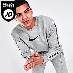 Men's Nike Sportswear Repeat Fleece Crewneck Sweatshirt
