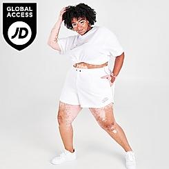 Women's Nike Sportswear Essential Futura Shorts (Plus Size)