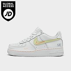 Big Kids' Nike Air Force 1 LV8 Triple Swoosh Casual Shoes