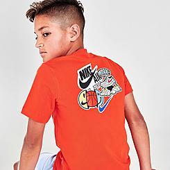 Boys' Nike Sportswear Jumpball Sticker T-Shirt
