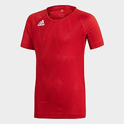 Girls' adidas Quickset Cap-Sleeve Volleyball Jersey
