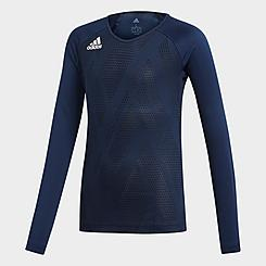 Girls' adidas Quickset Long-Sleeve Volleyball Jersey