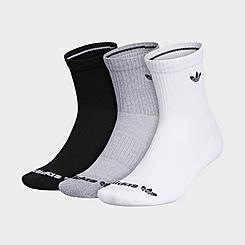 Kids' adidas Originals Trefoil 3-Pack Crew Socks