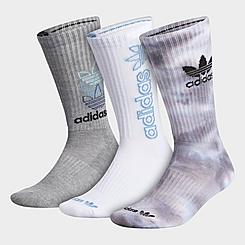 adidas Originals 3-Pack Colorwash Crew Socks
