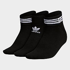 Women's adidas Originals Superlite 3-Stripes Low-Cut Socks (3-Pack)