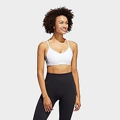 Women's adidas All Me 3-Stripes Light-Support Sports Bra