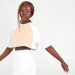 Women's adidas Originals Colorblocked Cropped T-Shirt