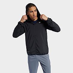 Men's Reebok Training Essentials Woven Full-Zip Jacket