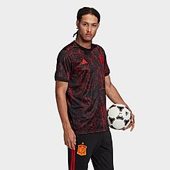 Men's adidas Spain Pre-Match Soccer Jersey