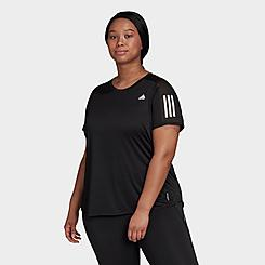 Women's adidas Own The Run T-Shirt (Plus Size)