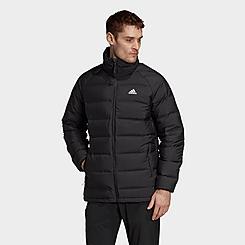 Men's adidas Helionic Mid-Length Down Jacket