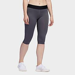 Women's adidas Alphaskin Capri Training Tights