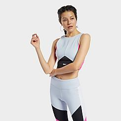 Women's Reebok Colorblock Crop Training Top