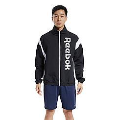 Men's Reebok Training Essentials Linear Logo Windbreaker Jacket
