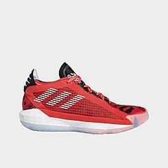 Boys' Big Kids' adidas Dame 6 Geek Up Basketball Shoes