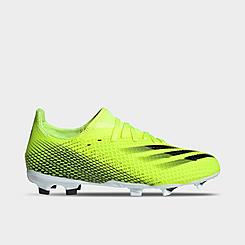 Big Kids' adidas X Ghosted.3 Firm Ground Soccer Cleats