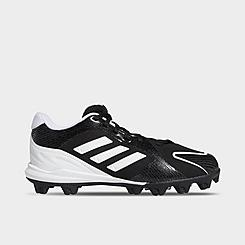 Girls' Little Kids' adidas PureHustle Molded Softball Cleats