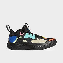 Big Kids' adidas Harden Vol. 5 Futurenatural Basketball Shoes