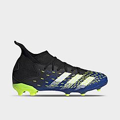 Big Kids' adidas Predator Freak.3 Firm Ground Soccer Cleats