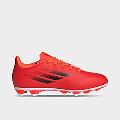 Big Kids' adidas X Speedflow.4 Flexible Ground Soccer Cleats