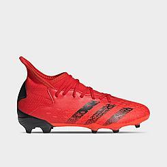 Big Kids' adidas Predator Freak.3 Firm Ground Soccer Cleats