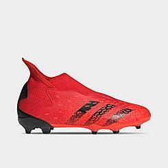 Big Kids' adidas Predator Freak .3 Laceless Firm Ground Soccer Cleats
