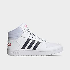 Men's adidas Hoops 2.0 Mid Casual Shoes