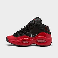 "Men's Reebok Question Mid ""Street Sleigh"" Basketball Shoes"