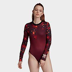 Women's adidas Originals HER Studio London Long-Sleeve Bodysuit