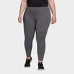 Women's adidas Believe This Solid Cropped Training Tights (Plus Size)