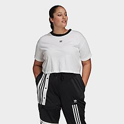 Women's adidas Originals Crop T-Shirt (Plus Size)