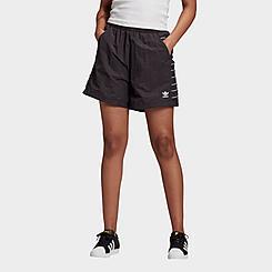 Women's adidas Originals Adicolor Large Logo Shorts