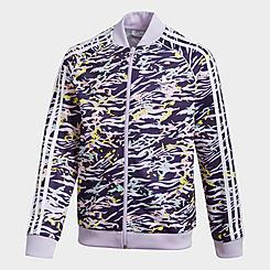 Girls' adidas Originals SST Printed Track Jacket