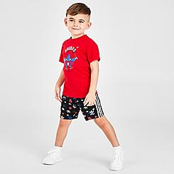 Boys' Infant and Toddler adidas Originals Graphic T-Shirt and Shorts Set