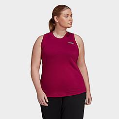 Women's adidas Essentials Designed 2 Move Training Tank (Plus Size)