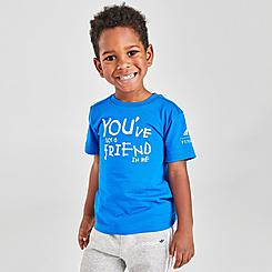 Kids' Toddler adidas You Have A Friend In Me Toy Story Basketball T-Shirt