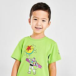 Boys' Toddler adidas Buzz x Luxo Toy Story Basketball T-Shirt