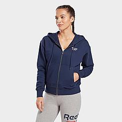 Women's Reebok Identity Zip-Up Track Jacket