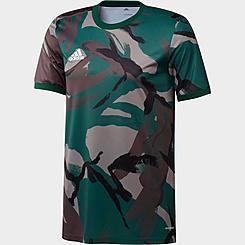 Men's adidas MLS Camo Pre-Match Jersey