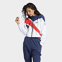 Women's Reebok Classics Vector Cropped Track Jacket