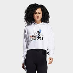 Women's adidas x Nini Sum Athletics Wash Print Hoodie