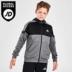 Boys' adidas Southstand Colorblock Full-Zip Hoodie