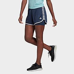 Women's adidas Marathon 20 Two-in-One Running Shorts