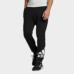 Men's adidas Essentials Tapered Cuff Logo Fleece Pants