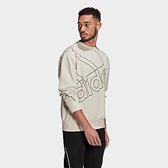 Men's adidas Essentials Giant Logo Crewneck Sweatshirt