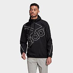 Men's adidas Essentials Giant Logo Windbreaker Jacket