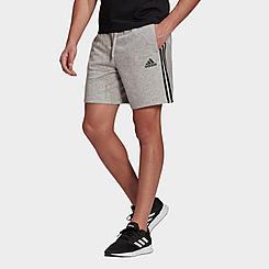 Men's adidas Essentials 3-Stripes Mid Fleece Shorts