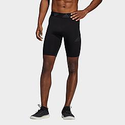 Men's adidas Techfit 3-Stripes Short Tights