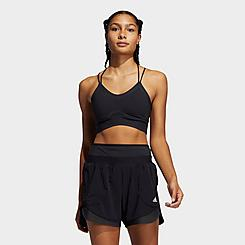 Women's adidas Longline Yoga Medium-Support Sports Bra
